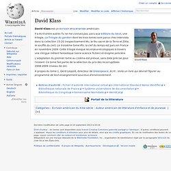 David Klass