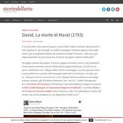 David, La morte di Marat (1793)