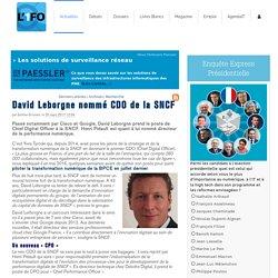 DavidLeborgne nommé CDO de la SNCF