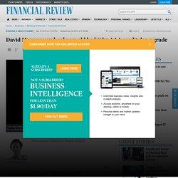 David Murray says banks would be hit by AAA credit downgrade