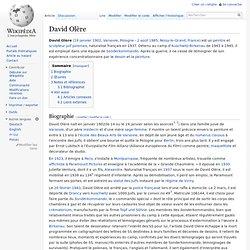 David Olère