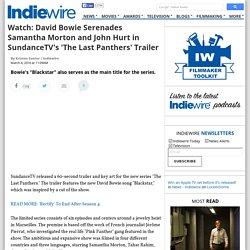 David Bowie Serenades SundanceTV's 'The Last Panth