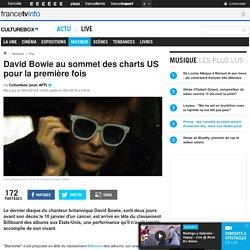 David Bowie au sommet des charts US pour la première fois