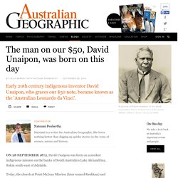 David Unaipon Born