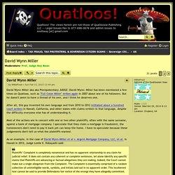 David Wynn Miller - Quatloos!