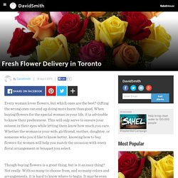 DavidSmith - Fresh Flower Delivery in Toronto