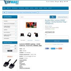 Bundle Offer! Lenovo G5030 Laptop + Harley Davidson Bag + Headphone - Esymart.com