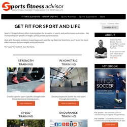 Phil Davies' Sports Fitness Advisor - Get Fit for Sport & Life