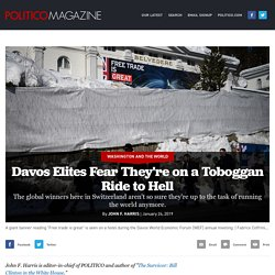 Davos Elites Fear They're on a Toboggan Ride to Hell