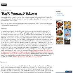 Day 10 Malasana & Balasana
