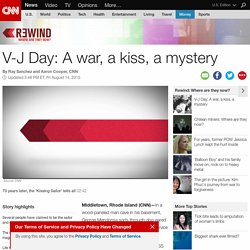 V-J Day 70th anniversary: The Kiss
