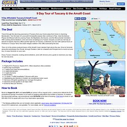 8 Day Venice, Florence & Rome by Rail Including Air