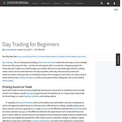 Day Trading for Beginners