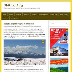 Dayara Bugyal Trek 2021 - A Joyful Dayara Bugyal Winter Trek -Shikhar travels