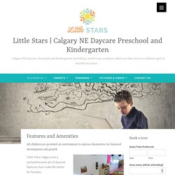 Little Stars Calgary Daycare features and benefits
