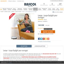 Daylight E23030 - Lampe Daylight pour ouvrages
