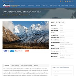 21 days Kanchenjunga south Base camp trek