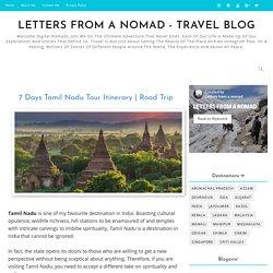 7 Days Tamil Nadu Tour Itinerary