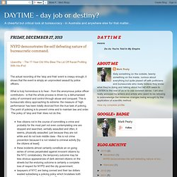 DAYTIME - day job or destiny?