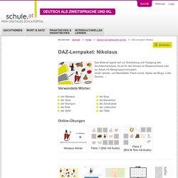 DAZ-Lernpaket: Nikolaus - schule.at