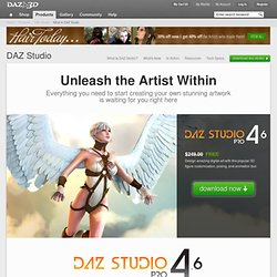What is DAZ Studio