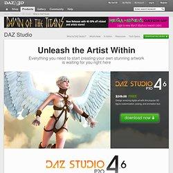 What is DAZ Studio