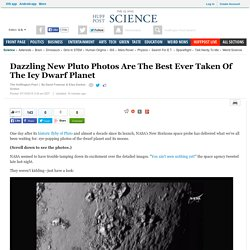 Dazzling New Pluto Photos Are The Best Ever Taken Of The Icy Dwarf Planet