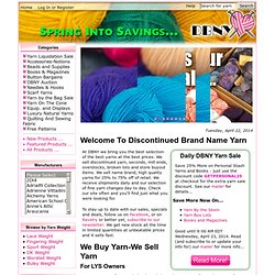 DBNY - The Best Deals On The Best Yarn., The best deals on the best yarn. Period.