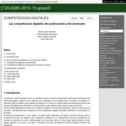 DCADEI-2012-13-grupo3 - COMPETENCIAS DIGITALES
