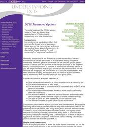 Understanding DCIS