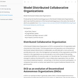 DCO Model Template