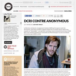 DCRI contre Anonymous