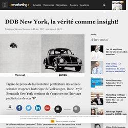 DDB New York, la vérité comme insight!