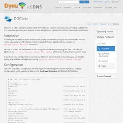 Free Dynamic DNS Service