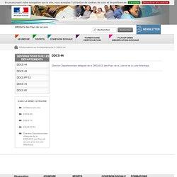 DDCS 44 - DRDJSCS des Pays de la Loire