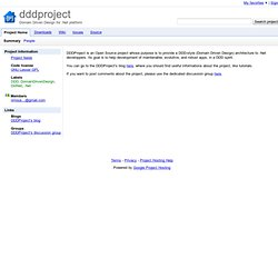 dddproject - Google Code
