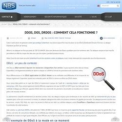 DDoS, DoS, Déni de service : explications