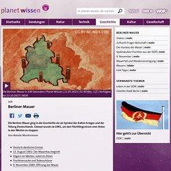 DDR: Berliner Mauer - DDR - Geschichte