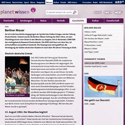 DDR - Geschichte - Planet Wissen