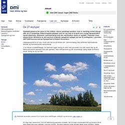 De 27 skytyper: DMI