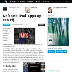 De beste iPad-apps
