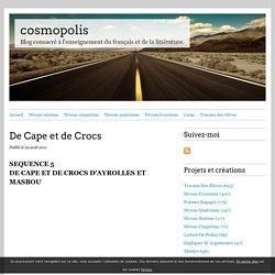 De Cape et de Crocs - cosmopolis