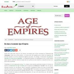 De clase a la consola: Age of Empires