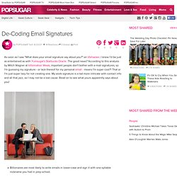 decoding email signature pearl