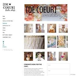 De Coeur Bake Shop - Weddings