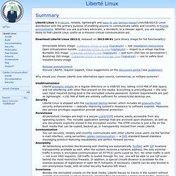 DE(E)SU - Liberté Linux