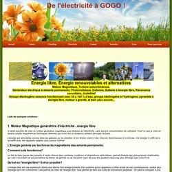De l'électricité à GOGO !