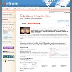 De EuroDisney à Disneyland Paris