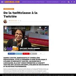 De la twittclasse à la Twictée