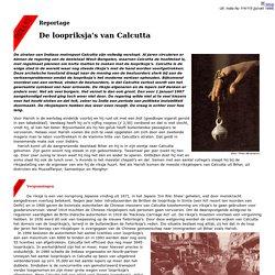 De loopriksja's van Calcutta